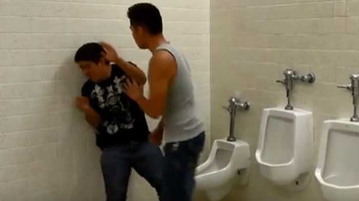 warning graphic content epic bathroom fight features