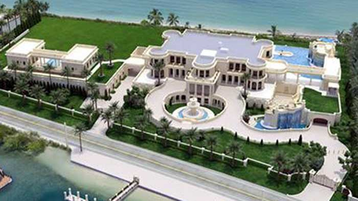 This florida home is the most expensive house to go up for for What is the most expensive house in the us